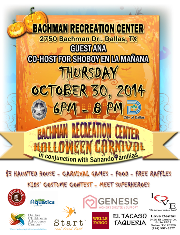 Halloween Carnival Bachman Recreation Center